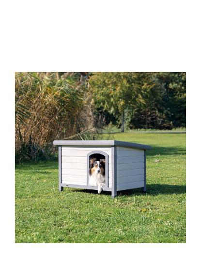 Afbeeldingen van Honden huis Classic Gray -