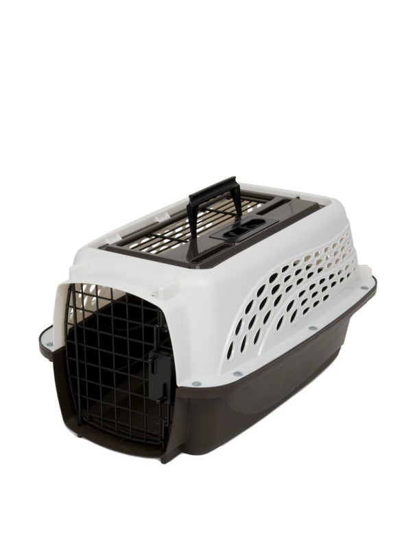 Picture of Petmate 2 Door Top Load Kennel XS White