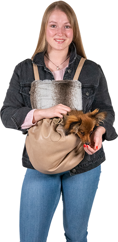 Picture of Jackie Kangaroo Bag Taupe